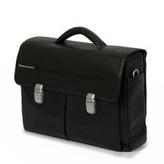 Biker Briefcase Black on Mandarina Duck Shop