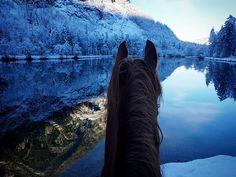 Sonja Obermayr . Winter ride in Salzburg/ Austria ❤