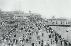The grand opening of the natatorium in Asbury Park is shown in this photo from 1912