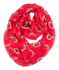 Take a look at this Ohio State NCAA Infinity Scarf by MascotWear on #zulily today!