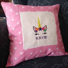 Handmade Pillows, Custom Pillows, Handmade Gifts, Baby Pillows, Throw Pillows, Sun Hats For Women, King Beds, Pillow Covers, Stitch