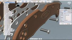 Modeling a complete Spyderco Knife in Fusion 360: Part 1