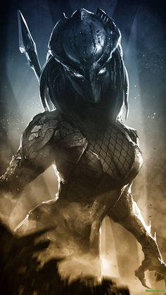 AVP, el universo Aliens y Predators, Predator, niebla XG Alien Vs Predator, Predator Alien, Dark Fantasy Art, Dark Art, Concept Art Landscape, Arte Ninja, Alien Art, Sci Fi Art, Fantasy Characters