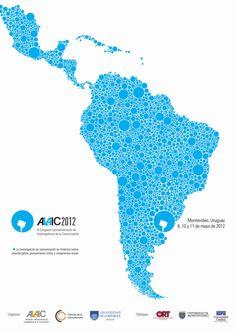 afiche presentado en el concurso realizado por ALAIC para el XI Congreso Latinoamericano de Investigadores de la Comunicación.