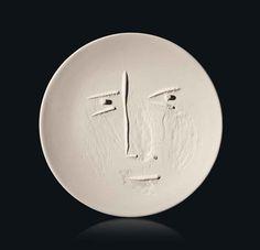 Pablo Picasso - ceramic face plate