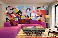 Artistic Feature Walls Have So Much Impact!