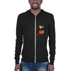 Unisex zip hoodie Summer Evening, Zip Hoodie, Smiley, Unisex, Hoodies, Clothing, Cotton, Jackets, Fashion