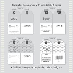 29 best custom hang tags with strings images on pinterest label