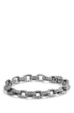 David Yurman 'Maritime' Rope Medium Link Bracelet available at #Nordstrom