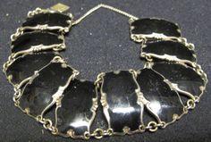 Ivar T. Holth Norway Sterling Silver Guilloché Black Enamel Bracelet by PoverelloStore on Etsy https://www.etsy.com/listing/256570613/ivar-t-holth-norway-sterling-silver