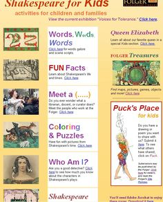 William Shakespeare for Kids