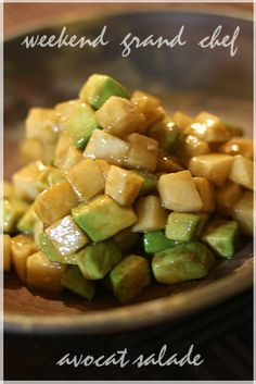 大根とアボカドの サイコロサラダ by 週末グランシェフ [クックパッド] 簡単おいしいみんなのレシピが256万品