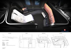 Turkish Airlines First Class Cabin on Behance British Airways, Air France, Plane Seats, First Class Flights, Blessing Bags, Aircraft Interiors, Turkish Airlines, Interior Sketch, Business Class