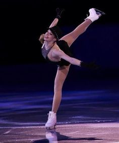 Gracie Gold (Gala at #Sochi2014 -SANSPO) beautiful xD!!!