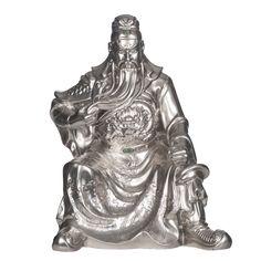 Guan Yu - Porcelain Sculpture Guan Yu, Buddha, Lion Sculpture, Porcelain, Hands, Statue, 3d, Painting, Porcelain Ceramics