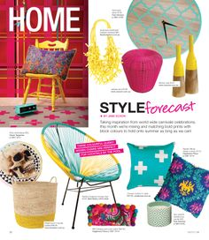 March 2014 issue of Style Magazine QLD - KAS Featured