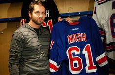 Rick Nash is gonna fit in great with the NY Rangers. Stanley Cup winners for sure!!