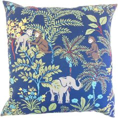 Add a tropical touch to your living room scheme with this vibrant cushion, featuring an exotic animal print. Product: Cushion