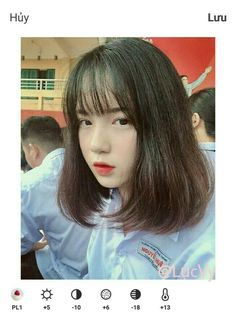 Open your eye and see it Most Beautiful Faces, Beautiful Asian Girls, Permed Hairstyles, Cute Hairstyles, Short Hair Cuts, Short Hair Styles, Ulzzang Hair, Uzzlang Girl, Girl Pictures