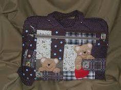 Resultado de imagem para bolsa maternidade patchwork passo a passo