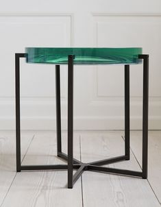 Jewel-Toned Tables from McCollin Bryan