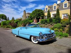 1953 Cadillac Eldorado Convertible... Re-pin Brought to you by #HouseofInsurance in #EugeneOregon for #LowCostInsurance