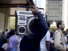 Boombox ~ Frequent site in the1980's...