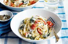 Creamy tomato and chilli pasta recipe