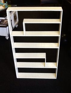 Fab MCM wooden wall shelf, $45. Sold