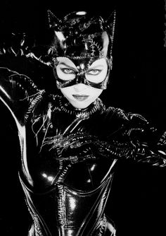 michelle pfeiffer as catwoman, the only one that matters - all those other catwomen have nothing on her <3