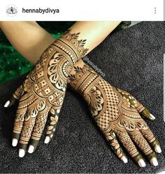 Another one from the August archives! Bridal henna for the lovely, Kiranjot! Indian Mehndi Designs, Mehndi Designs 2018, Finger Henna Designs, Modern Mehndi Designs, Mehndi Design Pictures, Mehndi Designs For Girls, Wedding Mehndi Designs, Mehndi Designs For Fingers, Henna Tattoo Designs