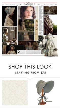 """""""Early Victorian Lucy Pevensie, BOTFH / Round 7"""" by of-simple-things ❤ liked on Polyvore featuring Old West, Olympia, Bernards and modern"""