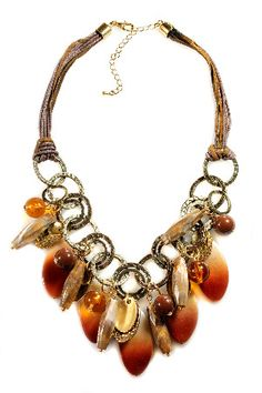 Faux Tortoise and more - Beyond the Rack $25.00 Chunky  jewelry is the fashion first for the fall season of 2012
