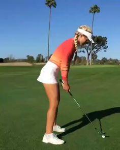 @alisadiomin 👌💚 . . #golfcuites #golfbabes #golf #golfer #femalegolfer #golfcourse Girls Golf, Ladies Golf, Golf Club Sets, Golf Clubs, Mens Golf Fashion, Golf Pga, Sexy Golf, Golf Practice, Woods Golf