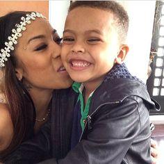 Keyshia Cole x her son <3