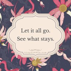 Let it all go                                                                                                                                                                                 More