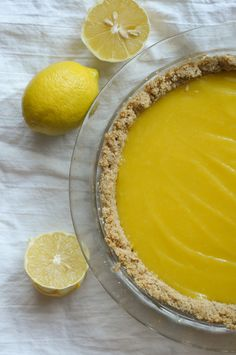 Oatmeal Cookie Pie Crust @heathersdish