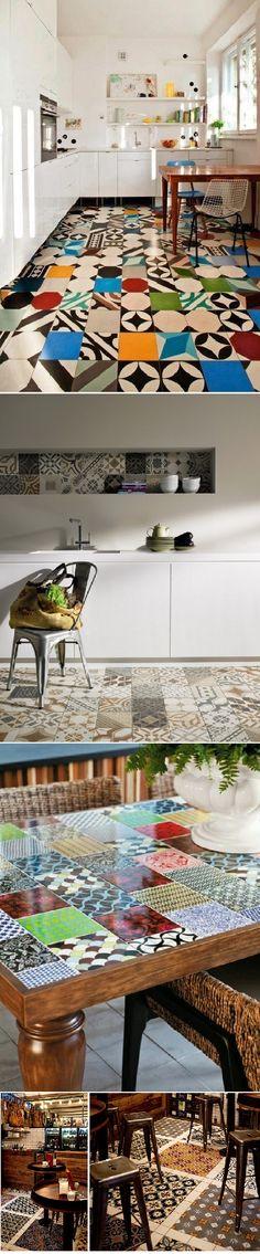 Cement Tile Design Ideas