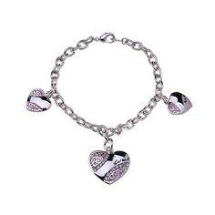 #FashionTime Coach Heart Signature Pink Bracelets ALE