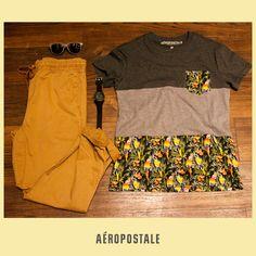 Look Aéropostale 2015 #wearWhatYouwantmx #Guys
