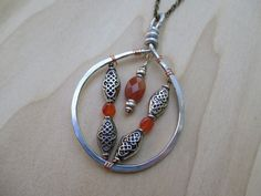 Dragon Scale Necklace Carnelian Necklace Mother of by Banba