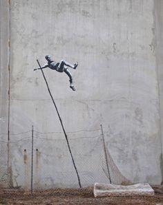 Banksy / OLYMPICS 2012
