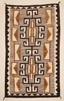 "Crystal Navajo Rug  34"" X 58""  Circa 1915 - 1925"