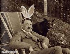 """""""Do these adorable bunny ears make me look evil?"""""""