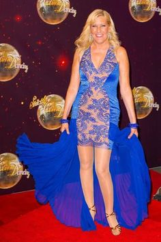 Jennifer Gibney attending the launch of Strictly Come Dancing 2014, at Elstree Studios