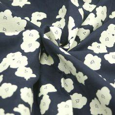 Birch - Bio Double Gauze - Poppies - Dusk Dusk, Birch, Alexander Mcqueen Scarf, Poppies, Fabrics, Design, Accessories, Fashion, Tejidos