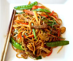 Authentic Beef Lo Mein - homemade and so much better than takeout. #chinese #takeout #noodles thewoksoflife.com