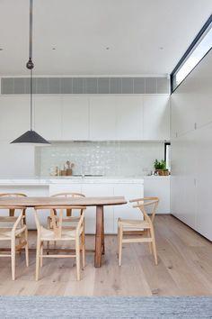 Scandinavian kitchen ideas. www.gjgardner.com.au