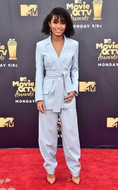 Kim Kardashian from MTV Movie & TV Awards 2018: Red Carpet Fashion | E! News