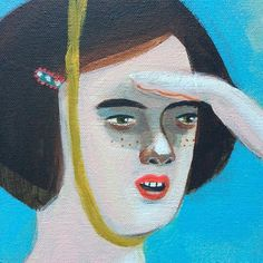 Detail #acrylicpainting #canvas #art #portrait #figurativepainting